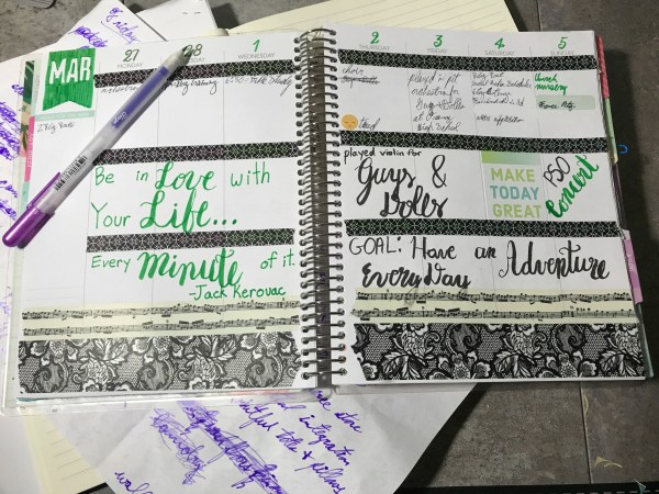 My Life in Lists: Planner Page 2