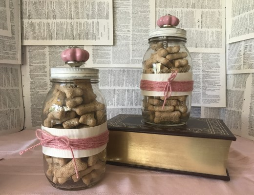 Shabby Chic Treat Jars