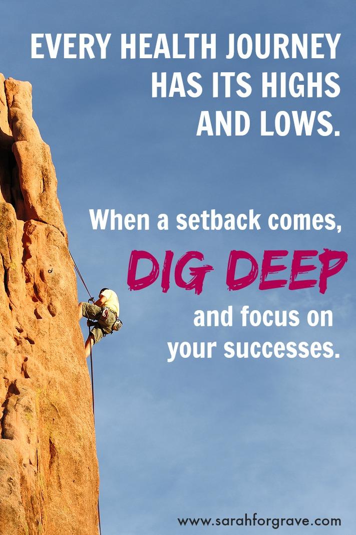 Dig Deep | www.sarahforgrave.com