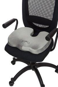 ComfiLife Coccyx Orthopedic Memory Foam Office Chair and Car Seat Cushion