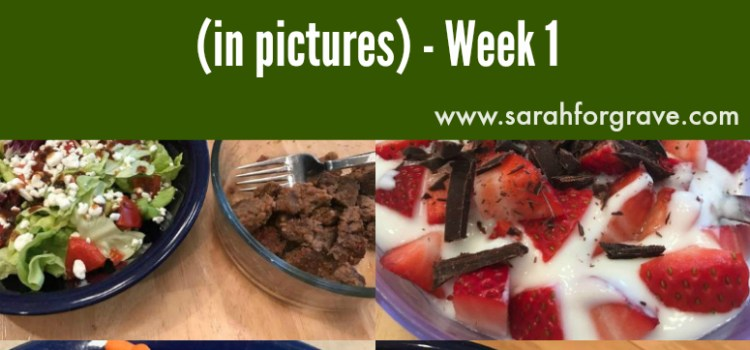 What Does a Wellness Coach Eat? (in pictures): Week 1