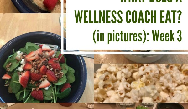 What Does a Wellness Coach Eat? (in pictures): Week 3