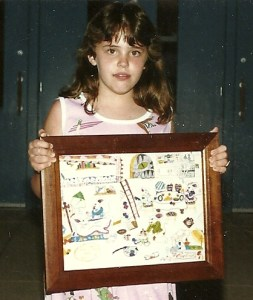 Me with my mouse picture May 1987