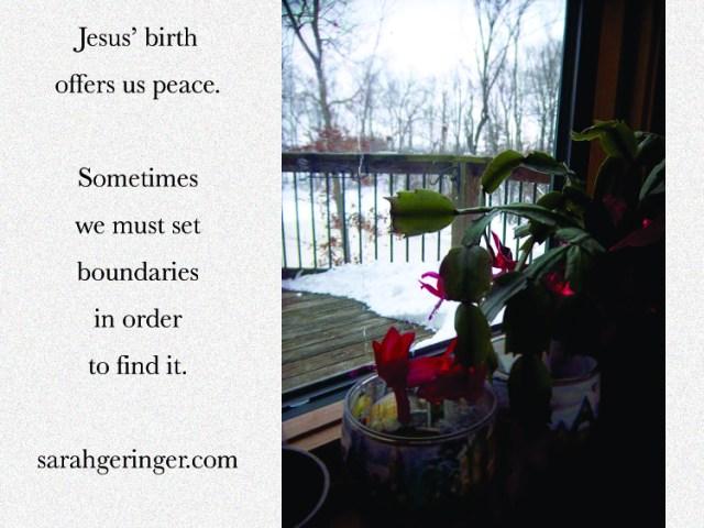 peace and boundaries