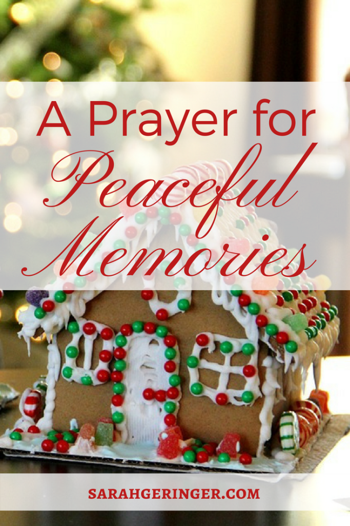 Make peaceful family memories this Christmas.