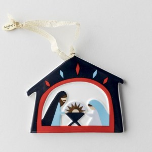 Nativity ornament from Dayspring