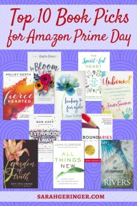 Top Ten Book Picks for Amazon Prime Day