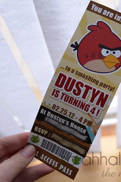 Angry Birds Birthday Smash | Invitations