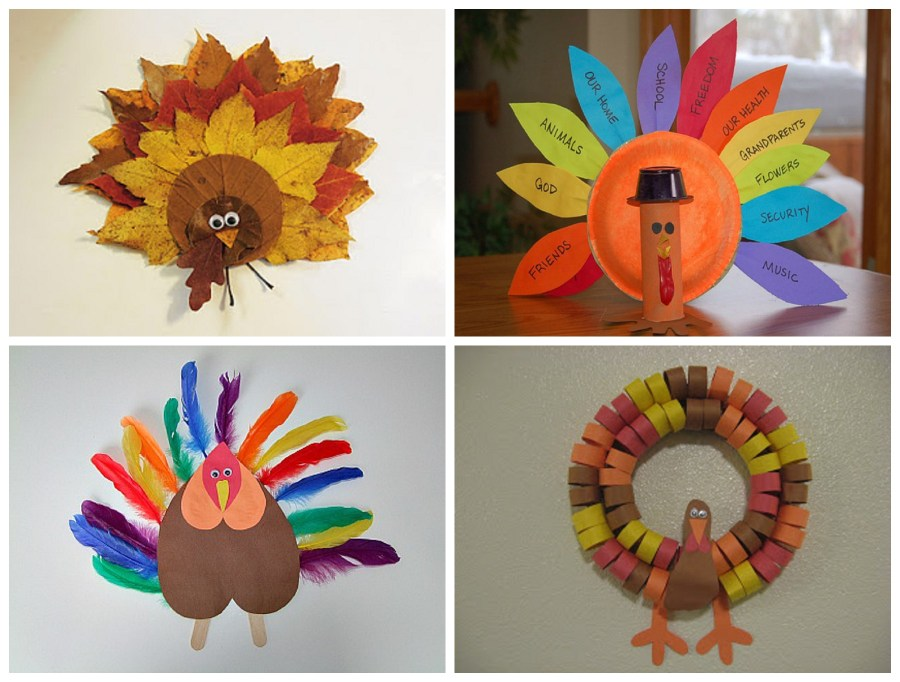 Thanksgiving Crafts using Bing Smart Search