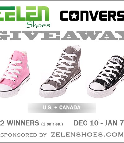 Converse Shoes Giveaway
