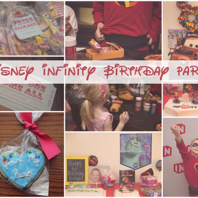 Disney Infinity Birthday Party