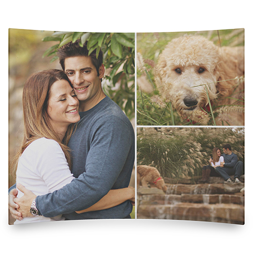 So You Want to Redecorate: Shutterfly Gallery of Three Curved Glass Print Home Decor