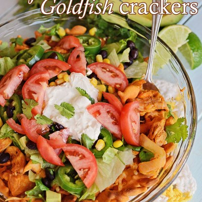 Chipotle Chicken Goldfish crackers