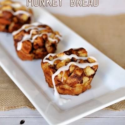 Mini Apple Cinnamon Monkey Bread