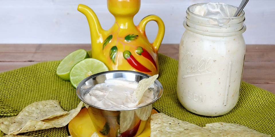 Mexican Restaurant White Dipping Sauce Sarah Halstead