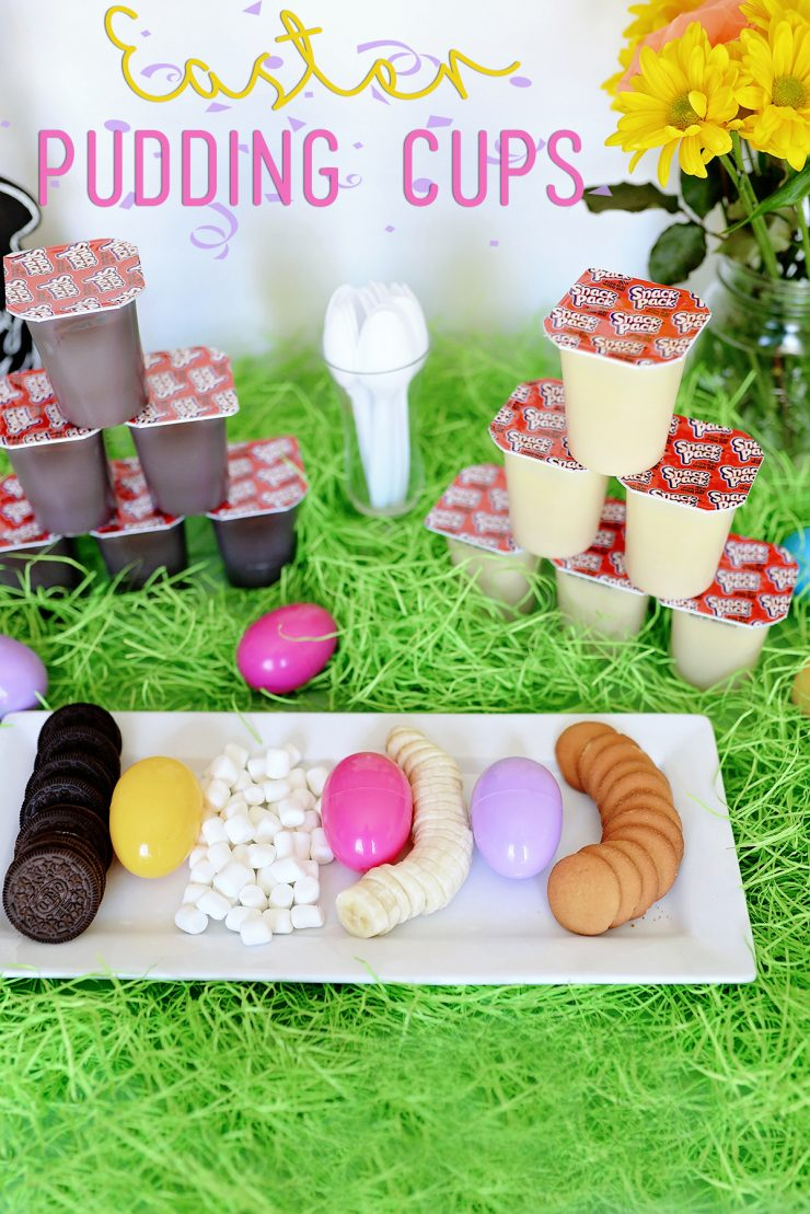 Easter Pudding Cups | #SnackPackMixins #CollectiveBias #ad