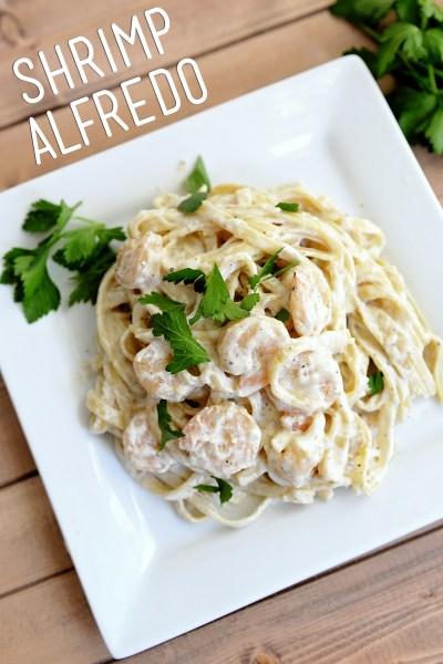 Simple Shrimp Alfredo Recipe