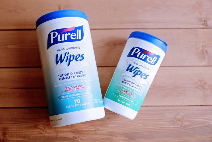 Purel Hand Santizing Wipes | #PurellWipes #CollectiveBias #ad
