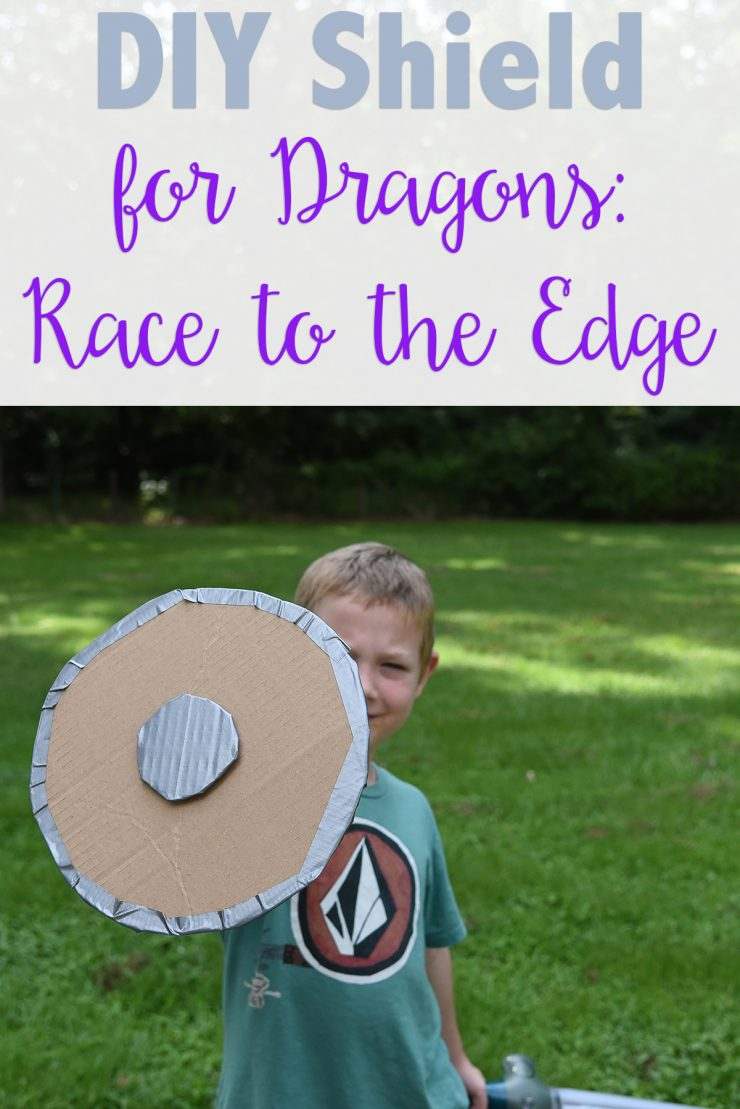 DIY Shield for Dragons: Race to the Edge