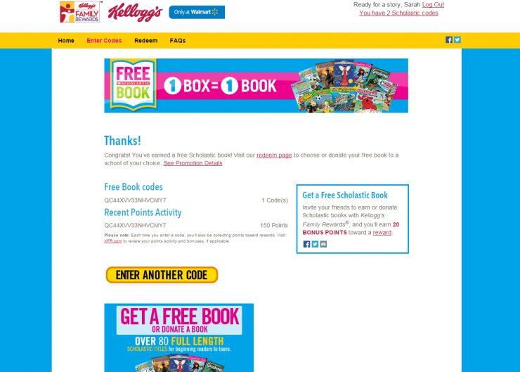 Summer Reading Log + Earn Free Books