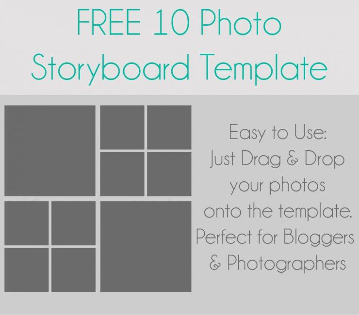 Storyboard Template | Freebie | Sarah Halstead