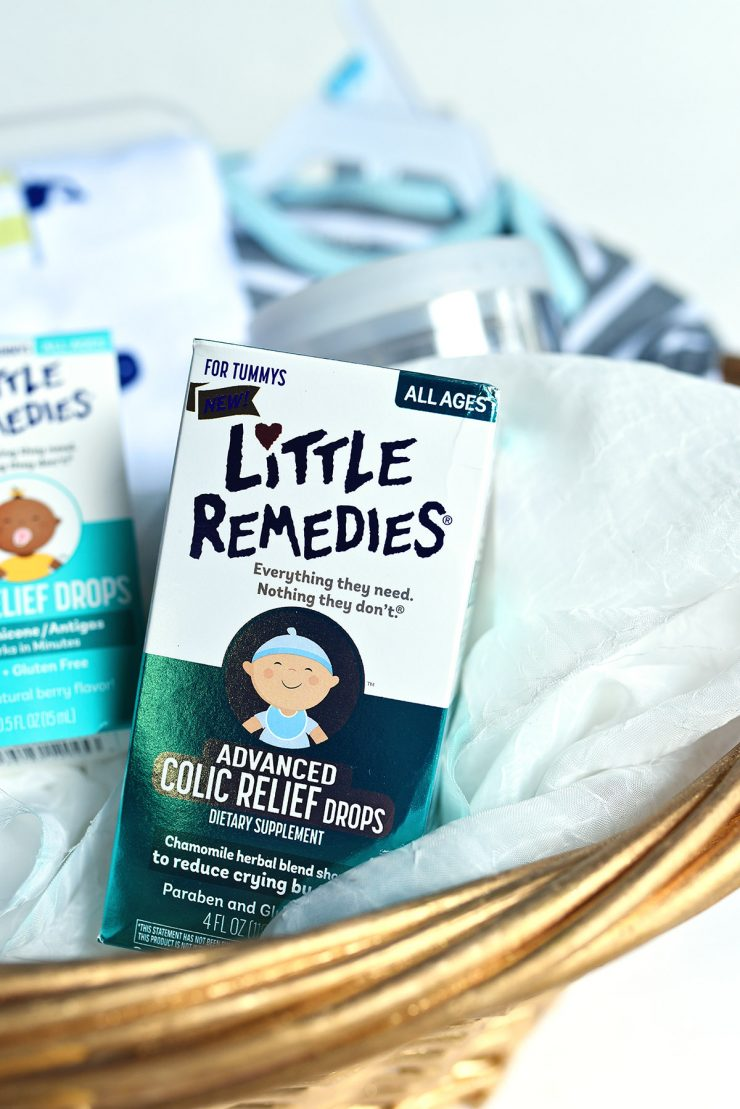 Gift Basket For New Moms | #ad #CollectiveBias #MyLittleRemedies