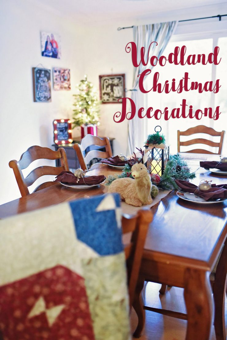 Woodland Christmas Decorations | #BigSeason #BigLots #ad #CollectiveBias