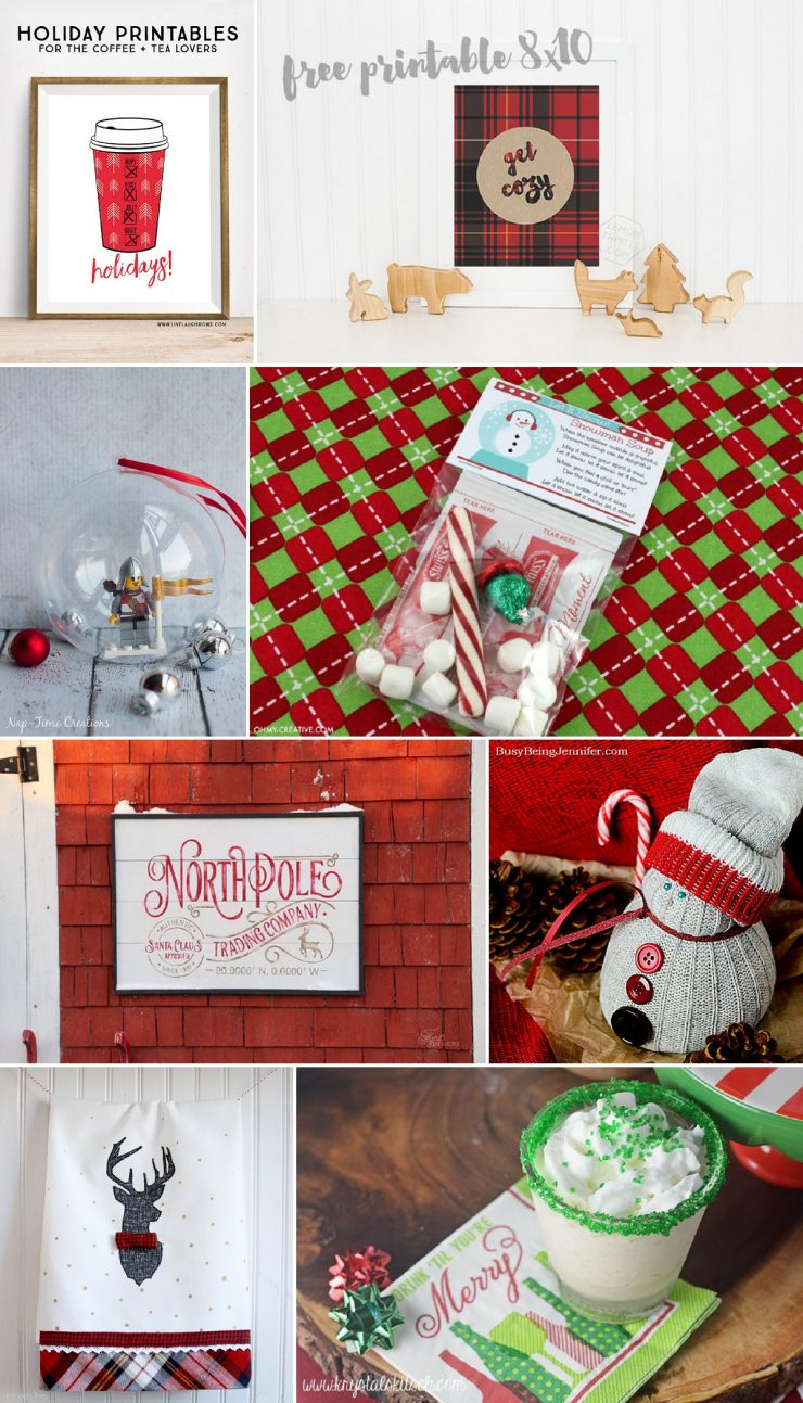 Love it! Holiday Printables for the Coffee + Tea Lovers. livelaughrowe.com
