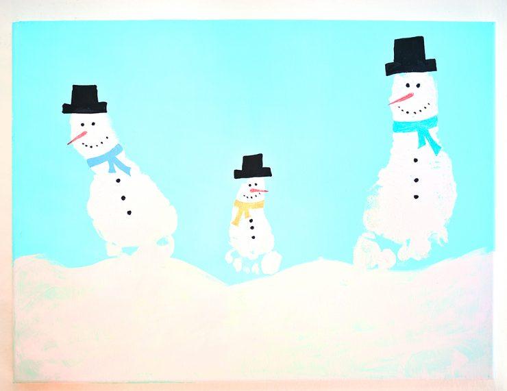 snowman-art