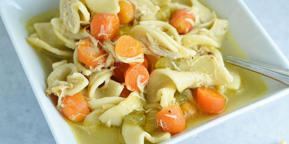 Chicken Noodle Soup Sarah Halstead