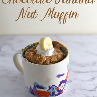 Chocolate Banana Nut Muffin