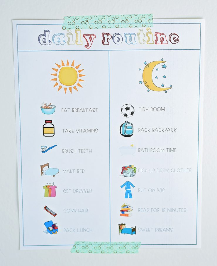 Back To School | Creating A Daily Routine