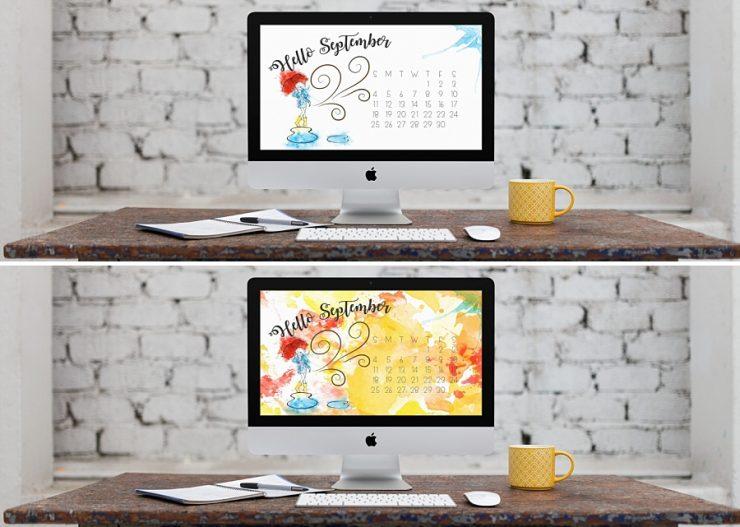 September Desktop Background