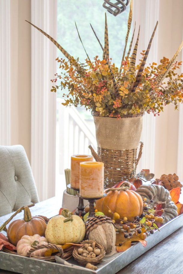 Fall Home Decor Ideas | Sarah Halstead