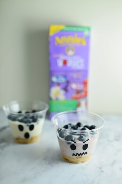 Spooky Yogurt Parfaits