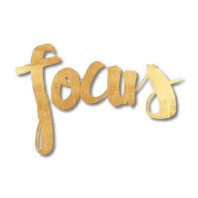One Word 2017 | Focus