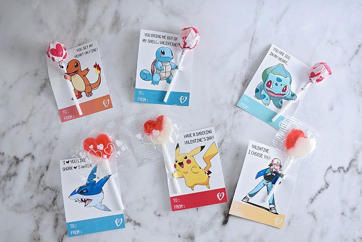 Pokemon Valentines by Sarah Halstead