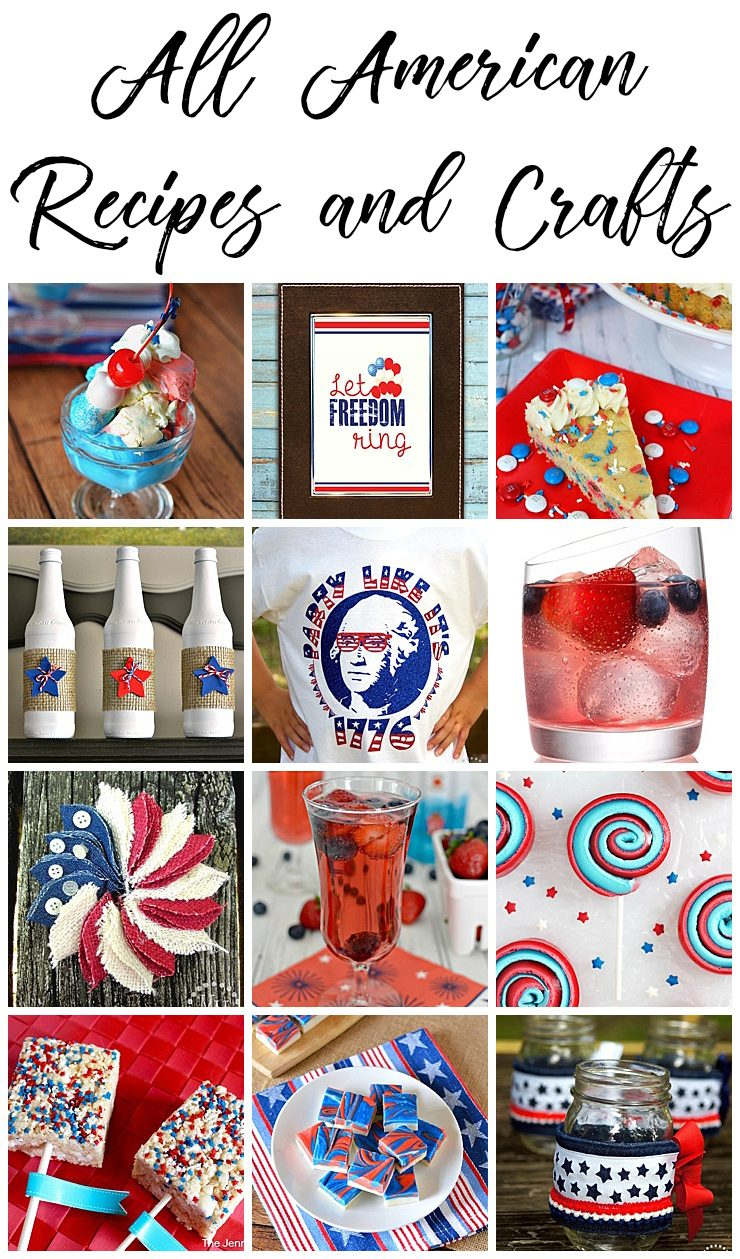 All American Recipes & Crafts