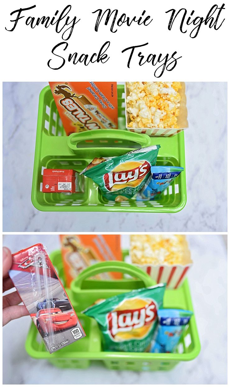 Movie Night Snack Tray