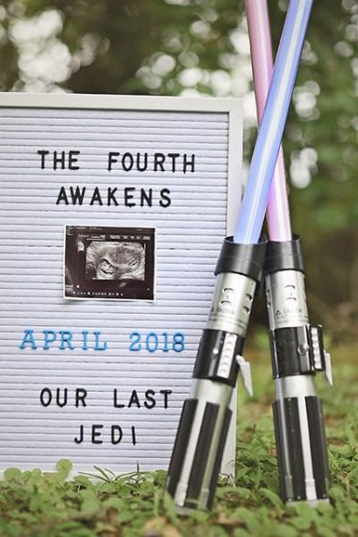 Pregnant again, I am … The Fourth Awakens