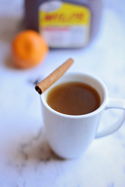 Hot Spiced Sweet Tea