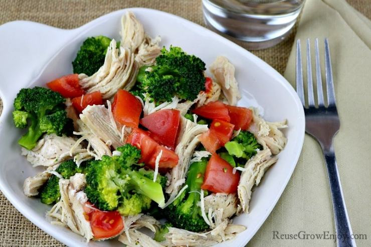 Lemon Pepper Chicken with Broccoli