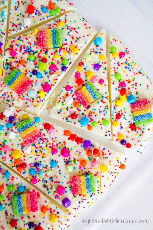 Rainbow Snacks Perfect for St. Patrick's Day