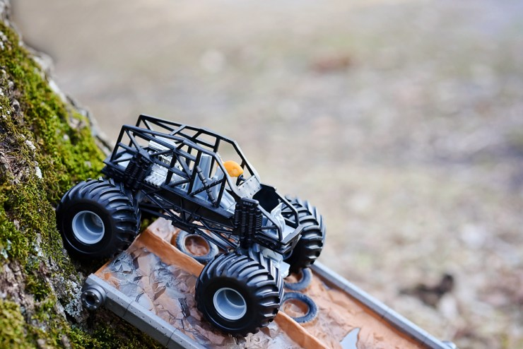 Goldfish Tales | Monster Truck Style