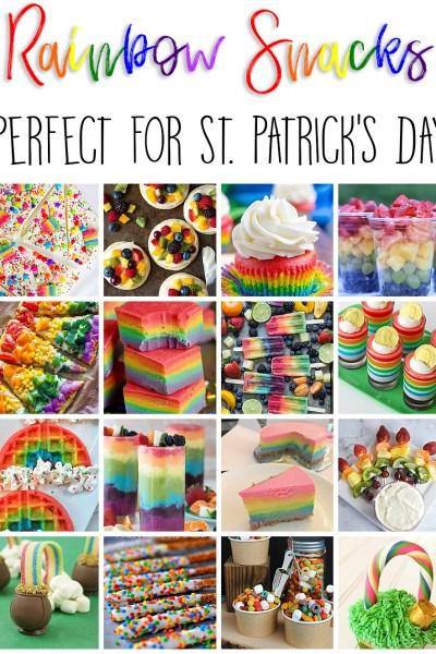 Rainbow Snacks for St. Patrick's Day