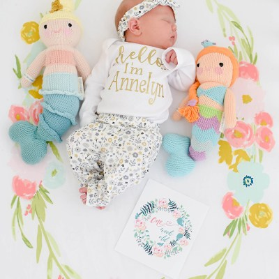 Annelyn Jane | 1 Week Old