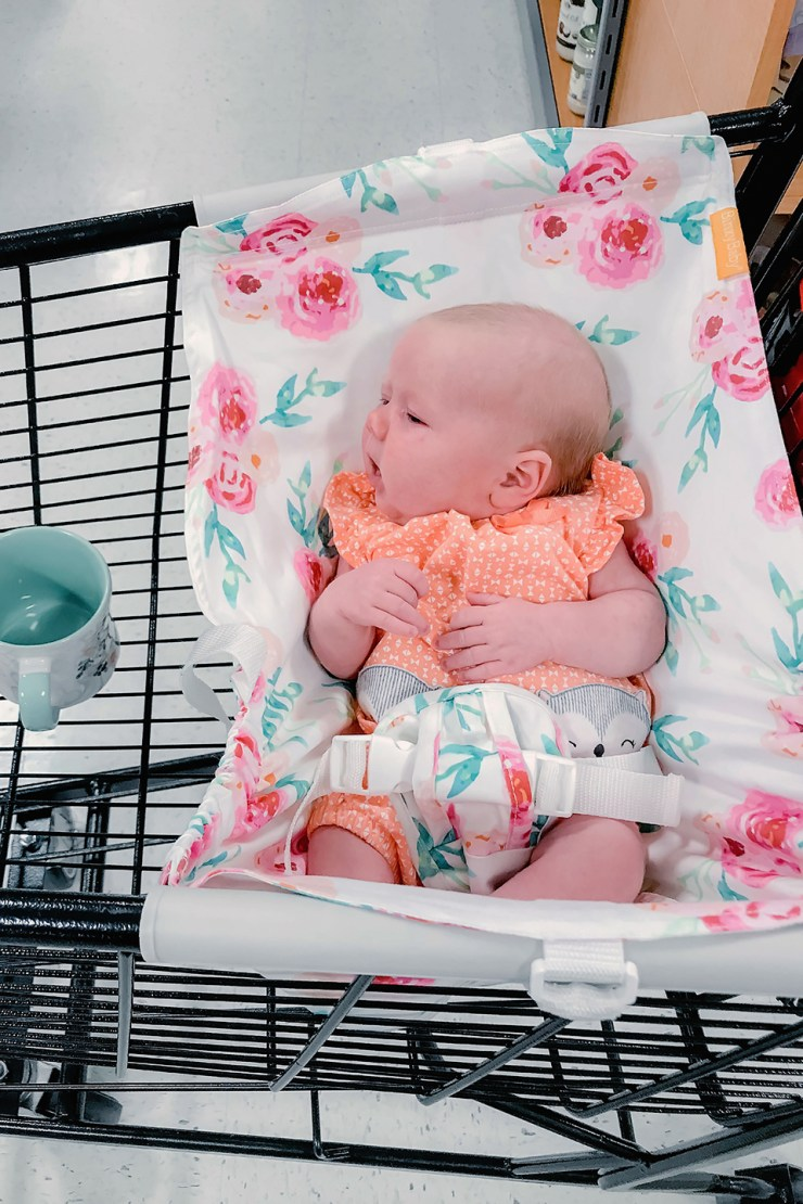 Shopping Made Easy with Binxy Baby Shopping Cart Hammock