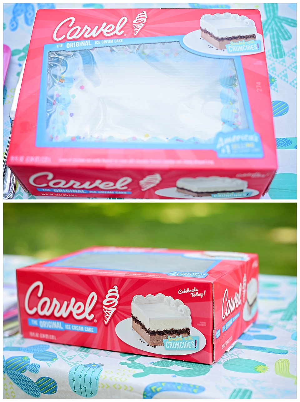 Celebrate National Ice Cream Month with Carvel Ice Cream Cake