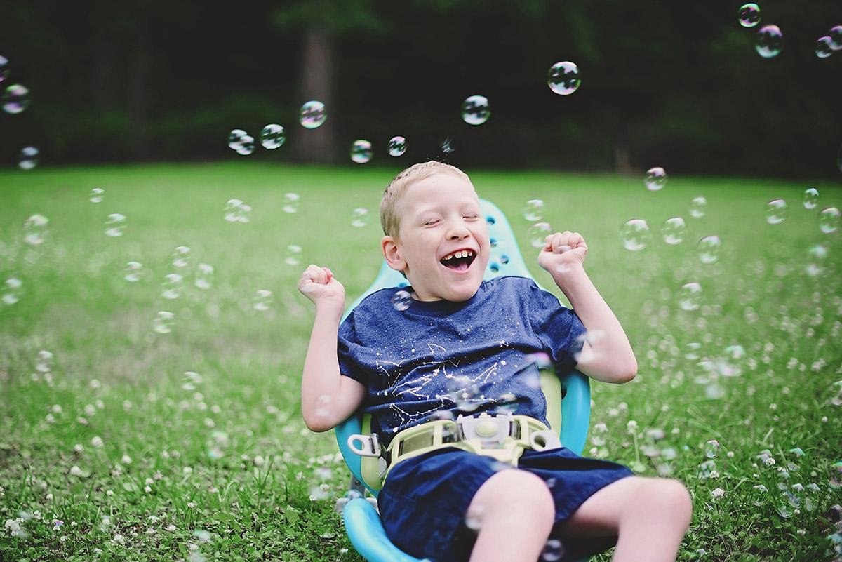 Bubbles - Fun Backyard Activities
