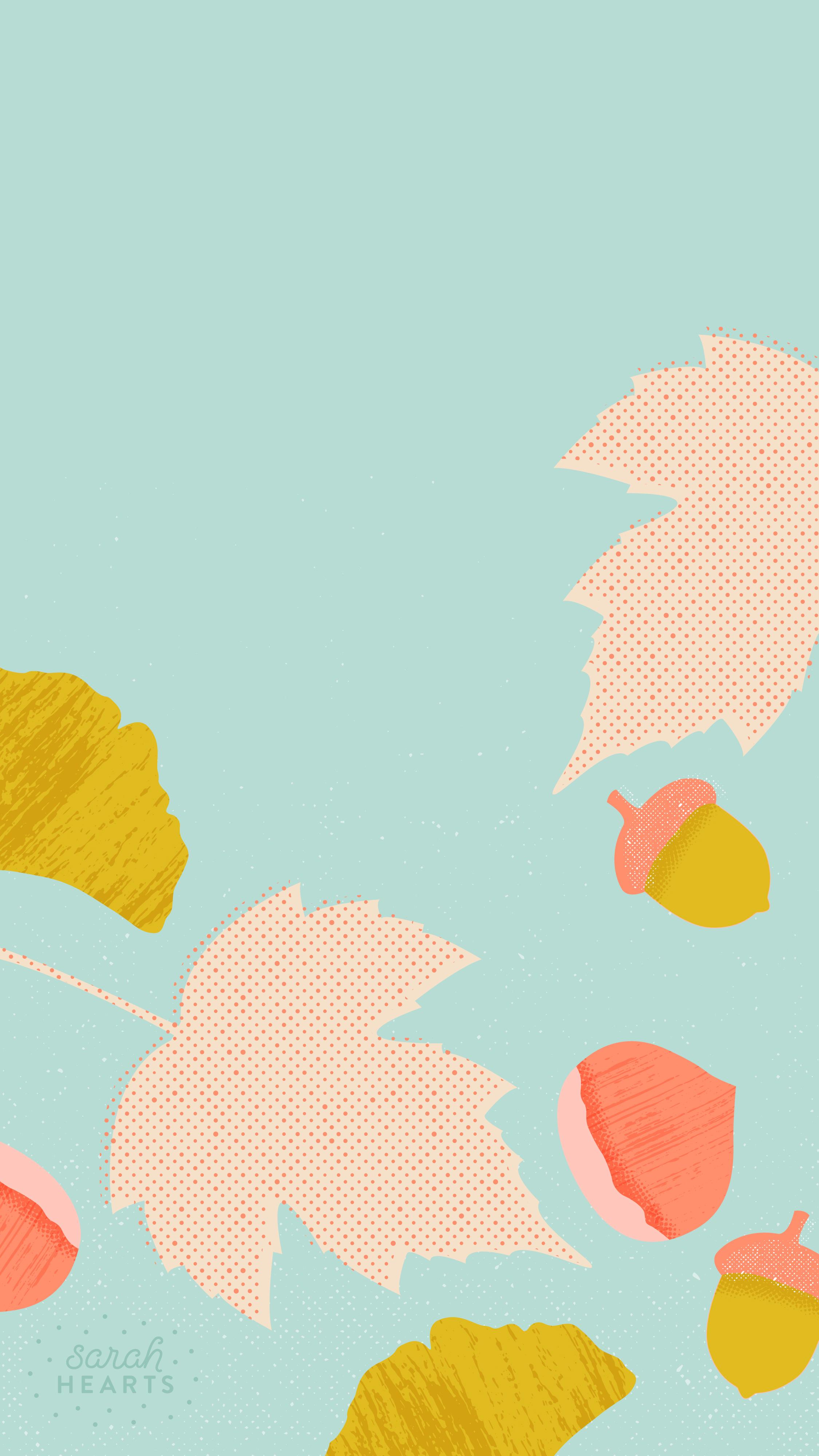 Pretty Fall Iphone Wallpaper October 2015 Calendar Wallpaper Sarah Hearts